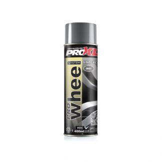 PRO WHEEL grey primer aerosol undercoat alloy wheels car wheels paint maintenance vehicle repair product prowheel