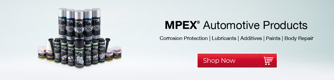 mpex automotive products car maintenance engine additives lubricants paints touch up repair bodywork fillers dent repair corrosion protection classic car