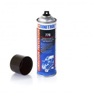 dinitrol 77b corrosion prevention open surfaces brown waxy water displacing film 500ml aerosol tiltrak marketplace automotive