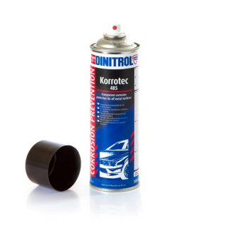 dinitrol korrotec 485 transparent corrosion protection for all metal surfaces spot welding seams overlap panels grooves engine compartment tiltrak