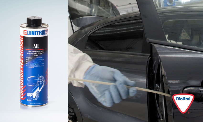 dinitrol ml penetrating caivity wax ideal for land rover defender restoration box sections doors sils frame members tiltrak