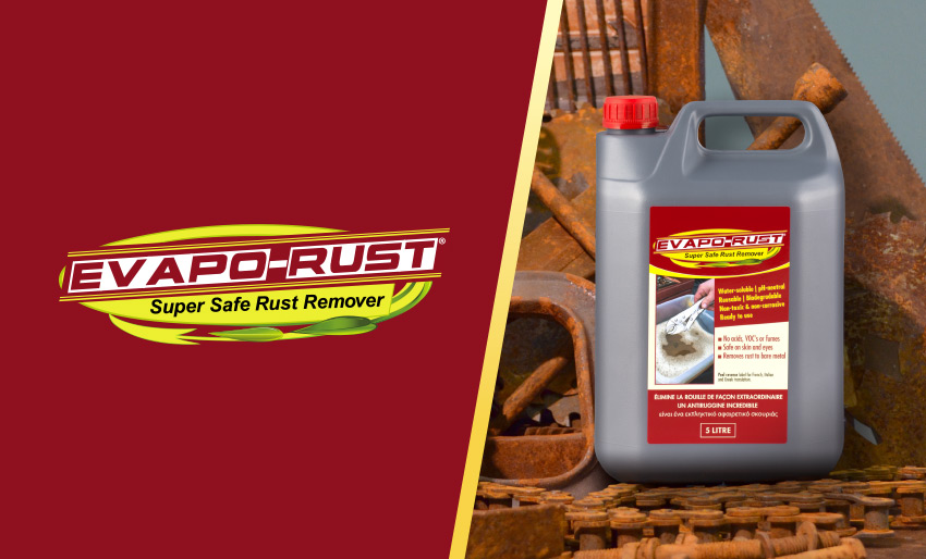 evapo rust super safe rust remover classic car restoration maintenance repair rusty metal product buy online tiltrak product review