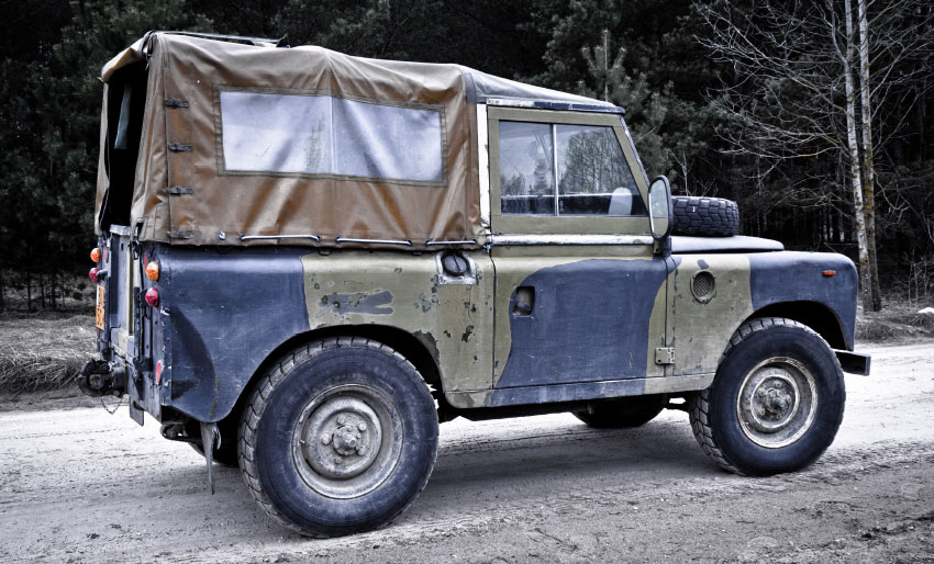 land rover history restore heritage maurice wilks solihull production line jeep dinitrol rustproofing corrosion protection