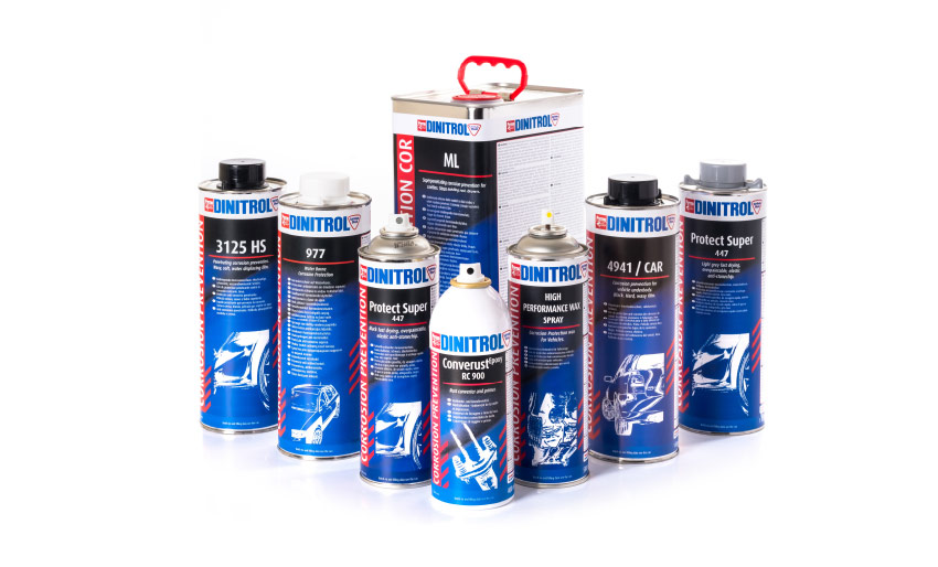 dinitrol corrosion protection rust prevention rust treatments 4941 underbody rustproofing car cavity wax injection rust converter anti stone chip paints shop