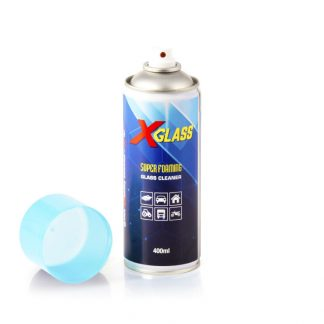 q oils x glass super foaming glass cleaner cars boats motorcycle household home tractor commercial vehicles car accessories cleaning car care product aerosol 400ml